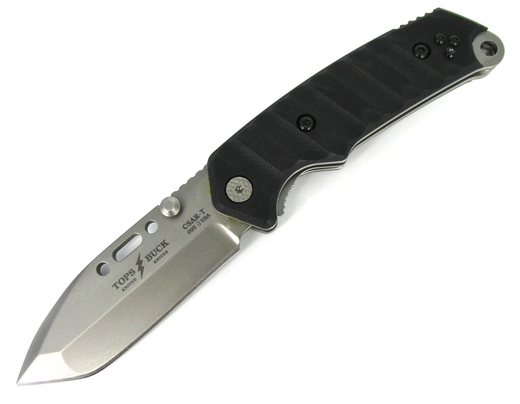 Buck Knives 0095BKSTP TOPS/Buck CSAR-T Tactical Folding Knife w/ MOLLE Compatible