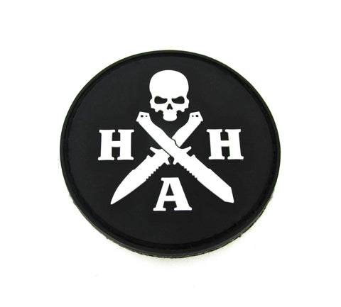 Hardcore Hardware Australia Glow in the Dark Morale Patch Swag PVC w/ Velcro Back