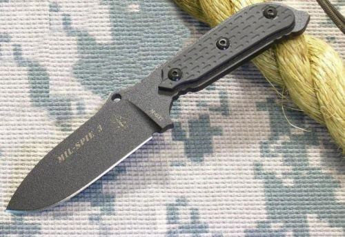 TOPS MIL-SPIE 3 Special Forces Survival Knife MIL-03