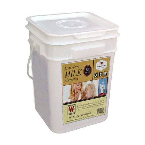 Wise Company Long Term Milk Alternative Supply - 120 Servings