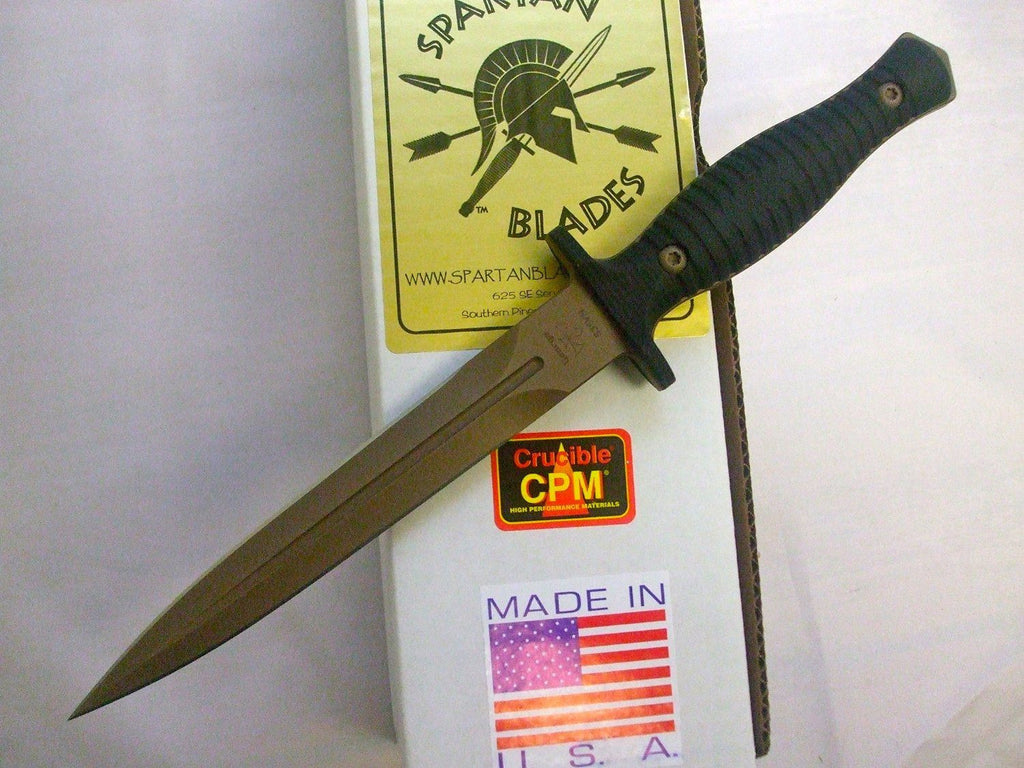 Spartan George V-14 Dagger Fighting Knife Dark Earth SB27DEBKKYBK