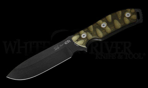 White River Knife & Tool GTI 4.5 Knife Justin Gingrich Series