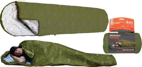 Adventure Medical Kits SOL Escape Bivvy Breathable Blanket OD Green 0140-1229