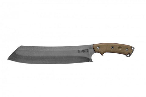 "TOPS Knives El Chete Machete Chopper 12"" Blade Kydex Sheath"