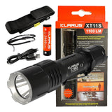 Klarus XT11S 1100 Lumens USB Rechargeable Tactical Flashlight CREE XP-L LED