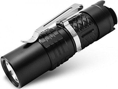 Klarus XT1C Compact LED Rechargeable Flashlight 700 Lumens Black