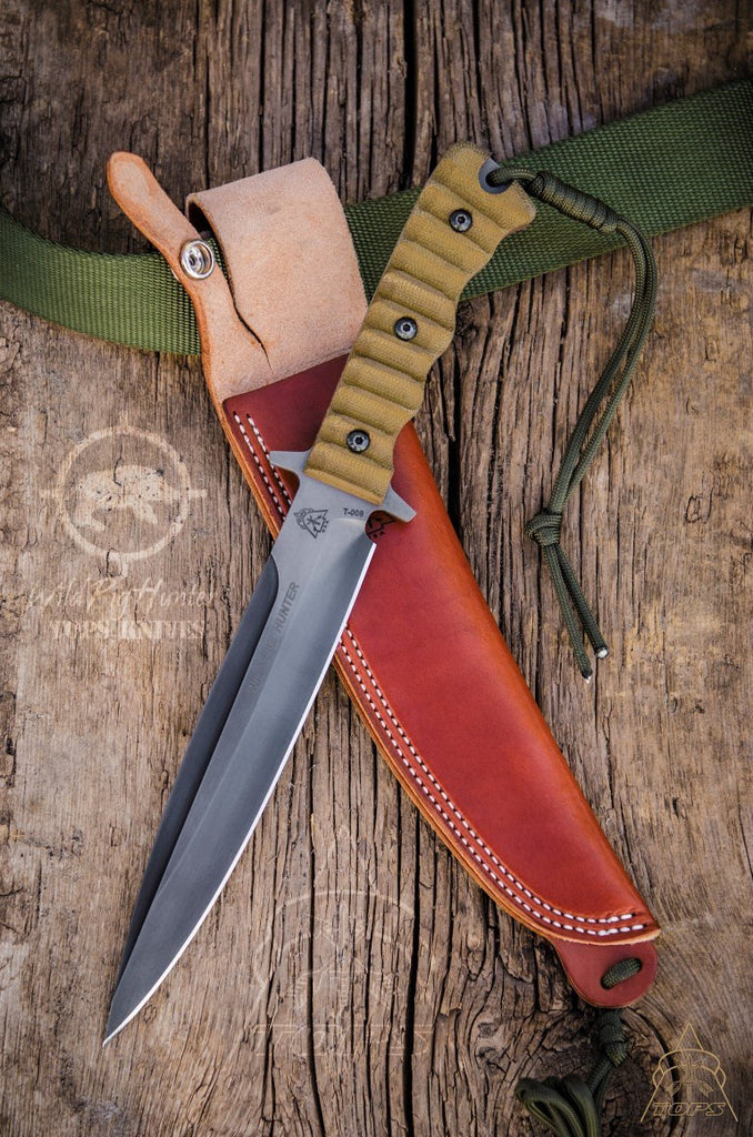 TOPS Wild Pig Hunter Fighting Knife WPH-07