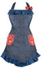 Denim Hostess Apron