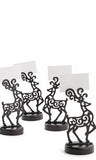 Reindeer Place Card Holder Set