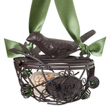 The Original CORK CAGE® - Bird's Nest Ornament