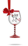 Chef Mini Wine Glass Ornament