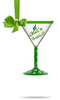 What's Shakin'? Mini Martini Glass Ornament