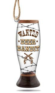 Beer Bandit™ Mini Pilsner Glass Ornament