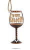 Wine Saloon Mini Wine Glass Ornament