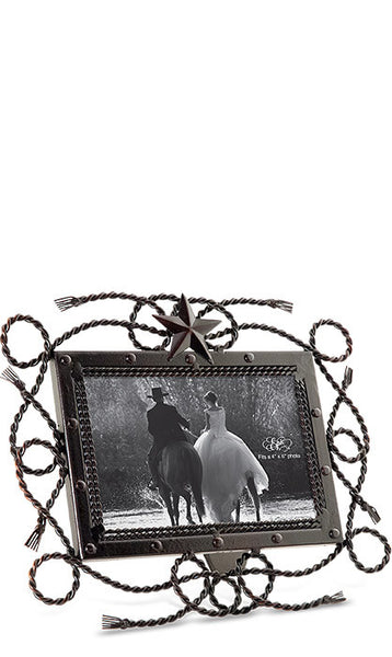 Western Rope & Star Frame - Regular