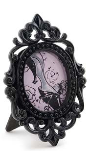Oval Scroll Picture Frame