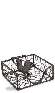 Rooster Beverage Napkin Holder