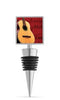 Acoustic Guitar Enamel Bottle Stopper