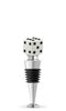 White Dice Bottle Stopper