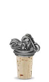 Motorcycle - Pewter Bottle Stopper