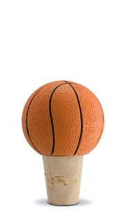 Basketball Bottle Stopper