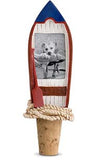 Rowboat Picture Frame Bottle Stopper