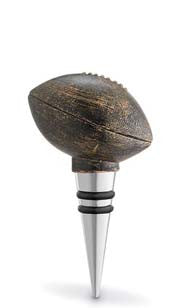 Vintage Football Bottle Stopper