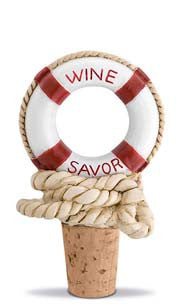 Nautical Wine Savor Bottle Stopper