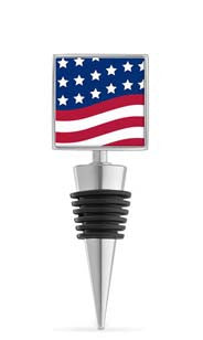 American Spirits Enamel Bottle Stopper