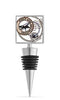 Wine Destination Enamel Bottle Stopper