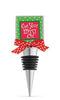 Get Your Merry On Enamel Bottle Stopper