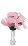 Pink Hat Bottle Stopper