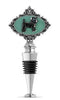 Chihuahua Jeweled Bottle Stopper