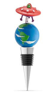 World Domination Bottle Stopper
