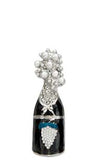 Champagne Celebration Brooch