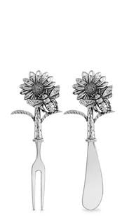 Sunflower Spreader & Fork Set