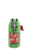 Let's Get Lit Neoprene Beer Bottle Epicool - beer bottle opener