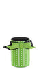 Green Stripes & Dots Neoprene Can Epicool - Neon Purple - can cooler - beer can cooler - beer can holder