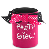 Party Girl! Neoprene Can Epicool - can cooler