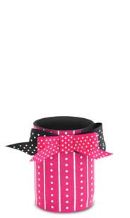 Pink Stripes & Dots Neoprene Can Epicool™