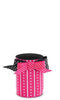 Pink Stripes & Dots Neoprene Can Epicool - can cooler