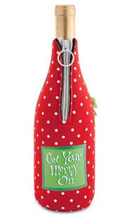 Get Your Merry On Neoprene Wine Bottle Epicool™