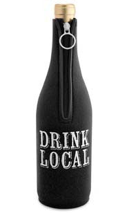Drink Local Neoprene Wine Bottle Epicool™