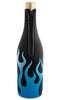 Blue Flames Neoprene Wine Bottle Epicool™