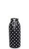 Black with White Polka Dots Neoprene Beer Bottle Epicool Beer Bottle Holder