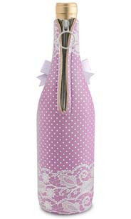 Lavender Lace Neoprene Wine Bottle Epicool™