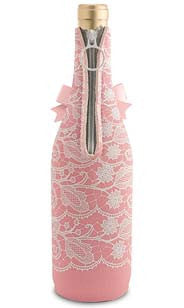 Pink Lace Neoprene Wine Bottle Epicool™