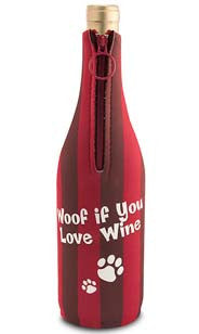 Woof If You Love Wine Neoprene Wine Bottle Epicool™