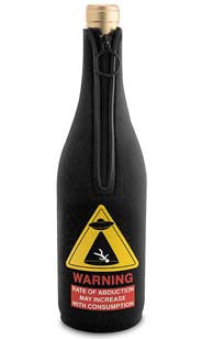 Alien Abduction Neoprene Wine Bottle Epicool™