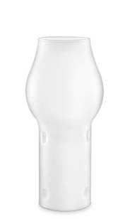 Frosted Bottle Candle™ Glass Chimney